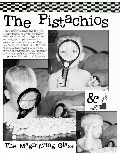 The Pistachios & The Magnifying Glass