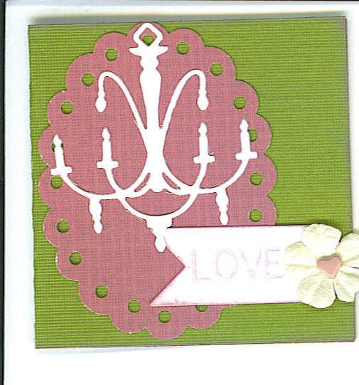 Love 3x3 Card