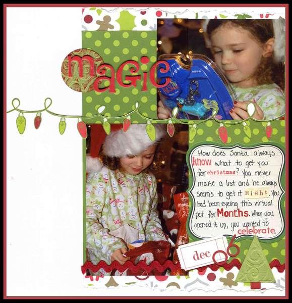 Magic ***American Crafts Christmas