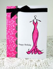 Girly Birthday Card