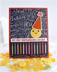 Boy Birthday Card ***Echo Park Party Time and Lawn Fawn