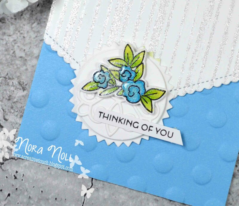 Thinking of You ***May 2019 Card Technique Challenge