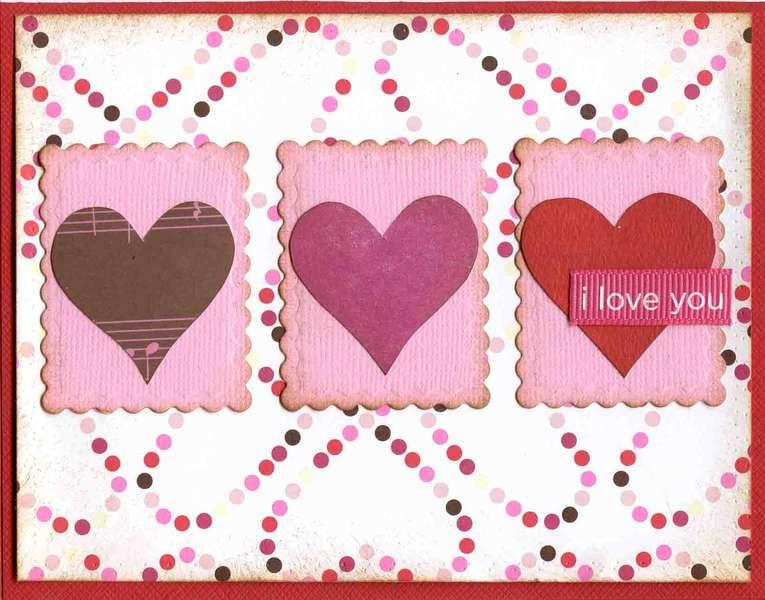 I Love You card **American Crafts