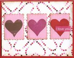 I Love You card **American Crafts