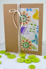 All Occassion Card ***Jane's Doodles-Doodle Flowers