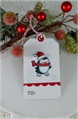 Penguin Tag***Mixing Lawn Fawn Products