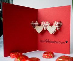 Pop Up Valentine Card