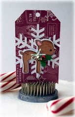 Lawn Fawn Reindeer Tag