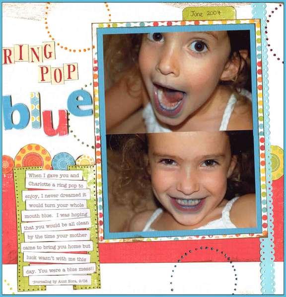 Ring Pop Blue