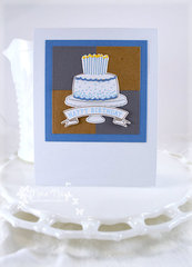 Masculine Birthday Card ***Umbrella Crafts Nesting Squares