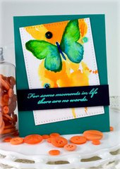 Sympathy Card ***Zig Clean Markers