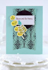 Bloom and Be Happy Card