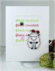 Fleece Navidad ***New Lawn Fawn Baaah Humbug