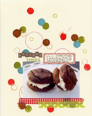 Holiday Treats **Tim Holtz Distress Stain