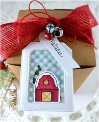 Christmas Tag ***My Favorite Things Winter Wonderland