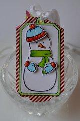 Snowman Tag