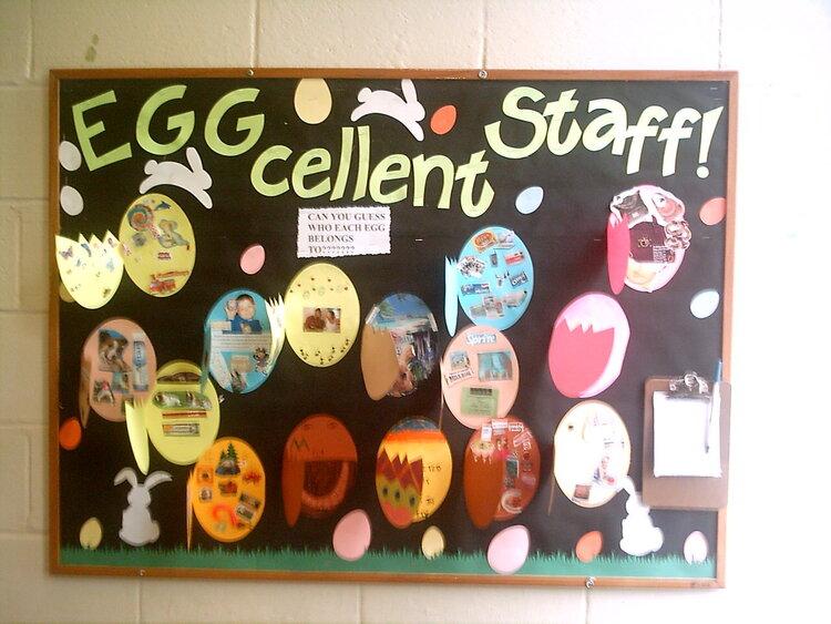 Eggcellent Staff