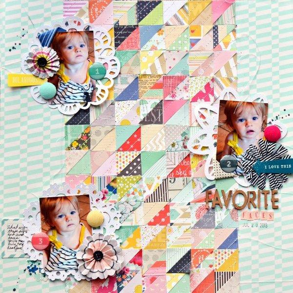 Favorite Faces by Paige Evans