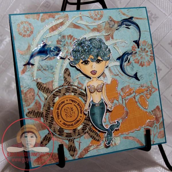BD Card - Felicia Mermaid