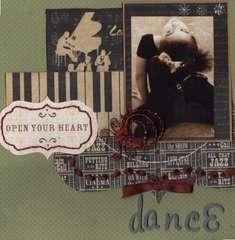 OPEN YOUR HEART DANCE