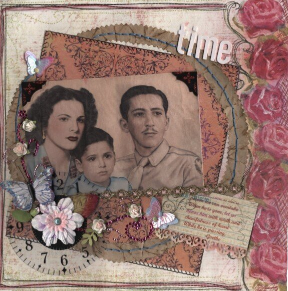 TIME...  MARCH KIT WHIMSY