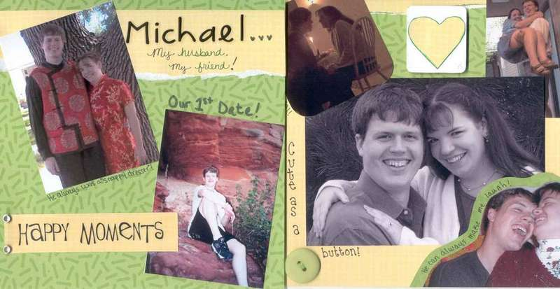 All About Me Book-Michael