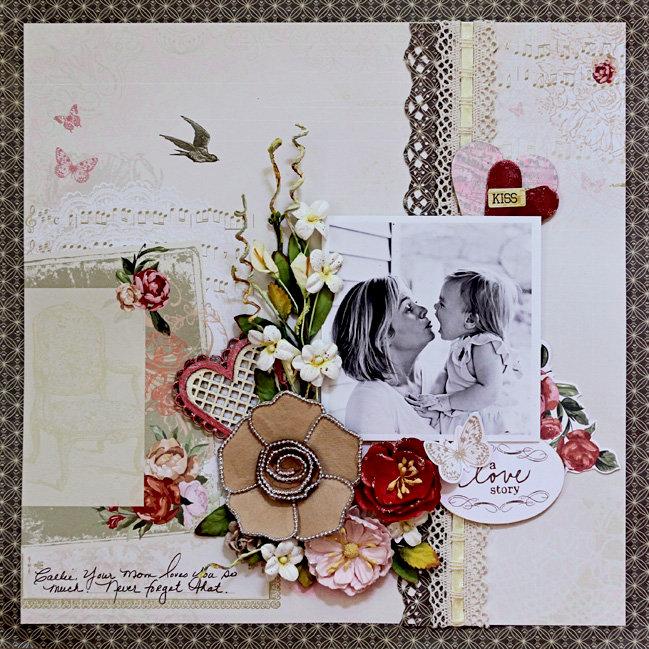 A Love Story - C'est Magnifique July Kit