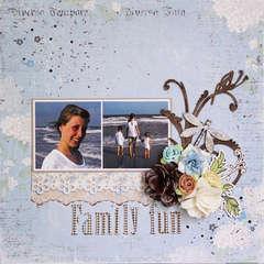 Family Fun - C'est Magnifique August Kit