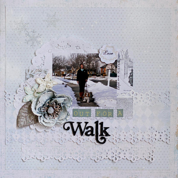 Out for a Walk - C'est Magnifique Jan Kit