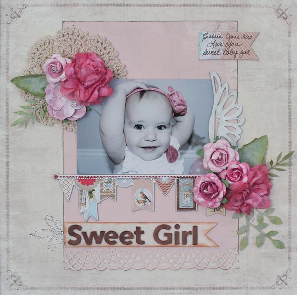 Sweet Girl - C'est Magnifique Dec Kit