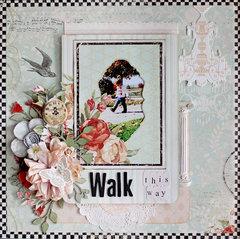 Walk This Way - C'est Magnifique July Kit