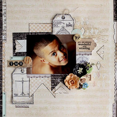 Wonderful and Amazing - C'est Magnifique July Kit