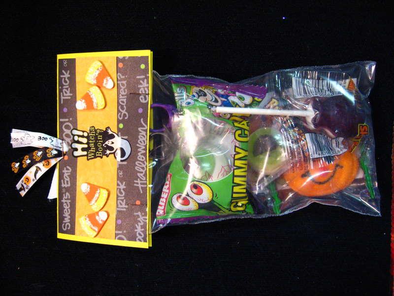 Halloween Treat Bag Tops