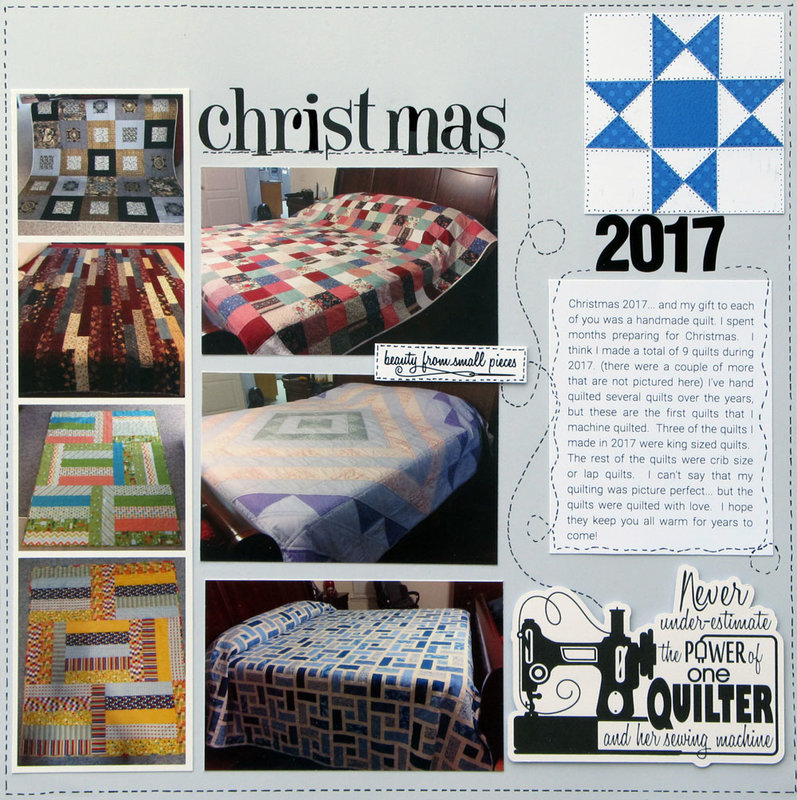 Christmas 2017 - Quilts