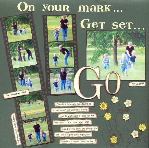On your mark....Get set....GO