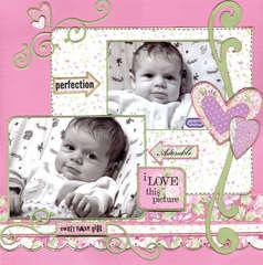 (Daisy D DT ~ CHA 2008 Sneak Peek) Sweet Baby Girl