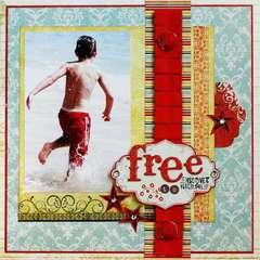 Free  **PINK PAISLEE**