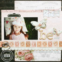 Be Still  **NEW PINK PASILEE**