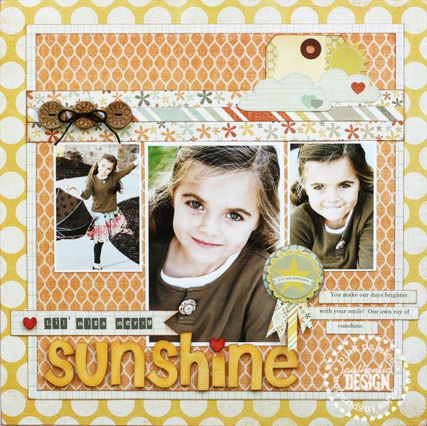 Miss Sunshine  **NEW Pink Paislee**