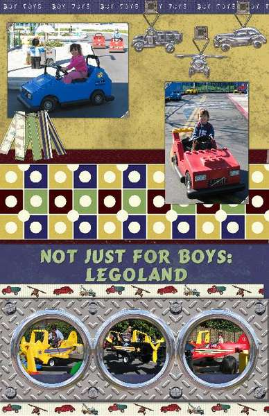 Not Just for Boys: Legoland