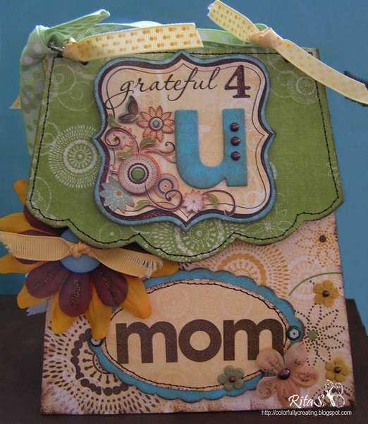 Grateful 4U Mom mini album