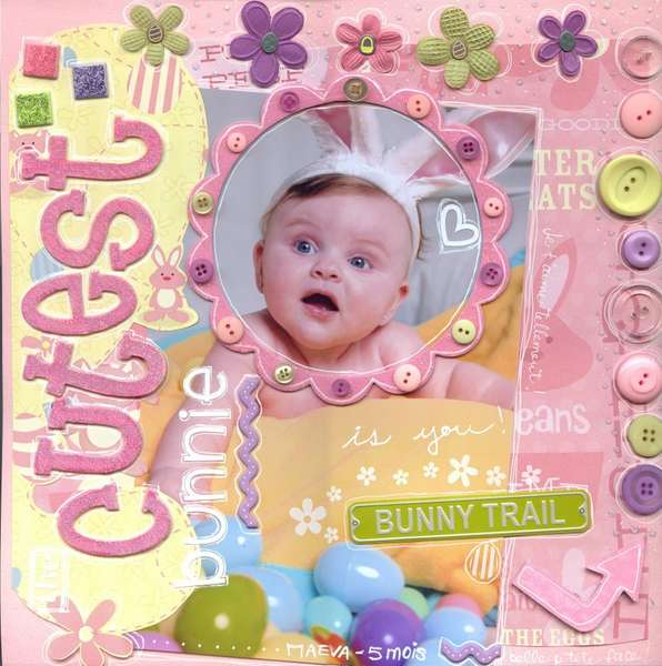 ♥ Cutest Bunnie ♥ Karen Foster Design