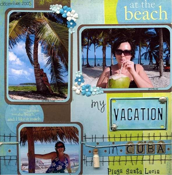 CUBA - Playa Santa Lucia