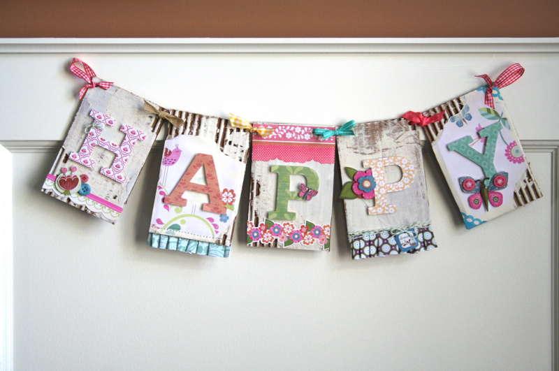 """Happy Banner"" Grant Studios"