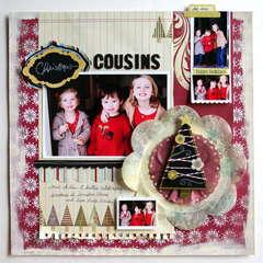"""""""Christmas Cousins"""" Fancy Pants"""