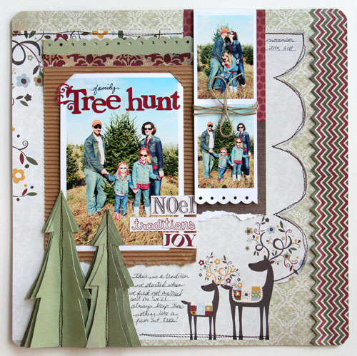 "CHA SUMMER ""Family Tree Hunt"" Fancy Pants Designs"