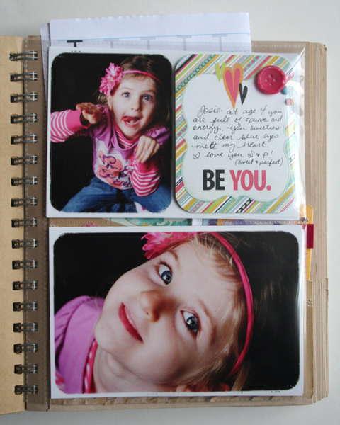 """Be You Brag Book"" Fancy Pants"