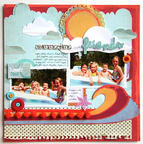 """Summertime With Friends"" Fancy Pants Designs"