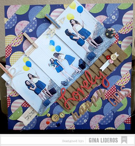 Lovely Happy Girls *American Crafts Design Team
