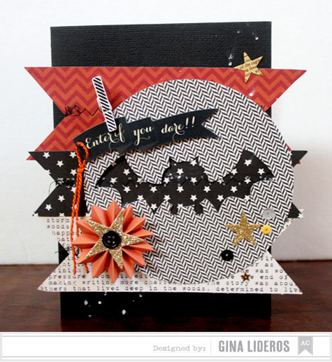 Enter If You Dare Card *American Crafts DT